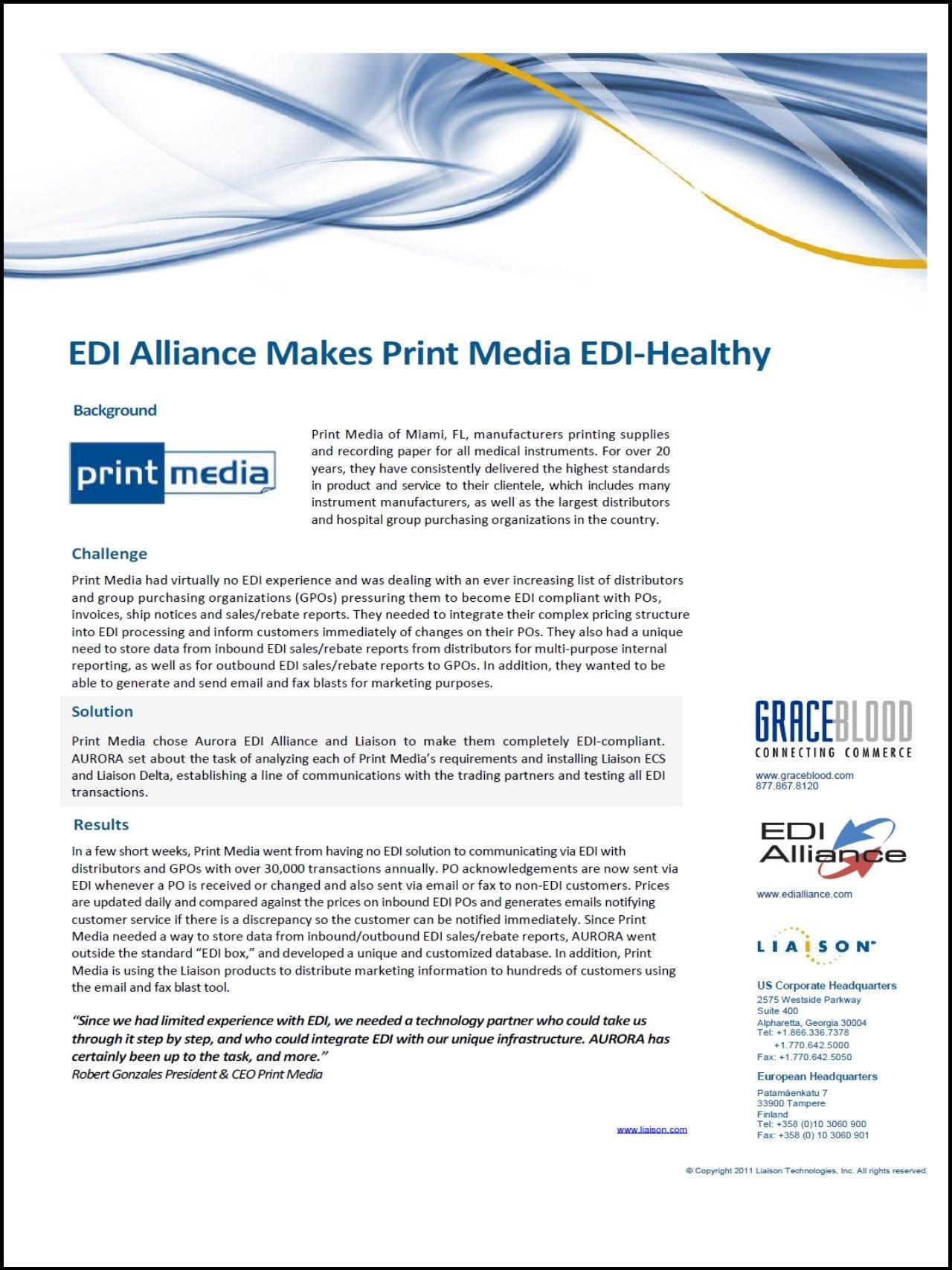 Print Media Image border