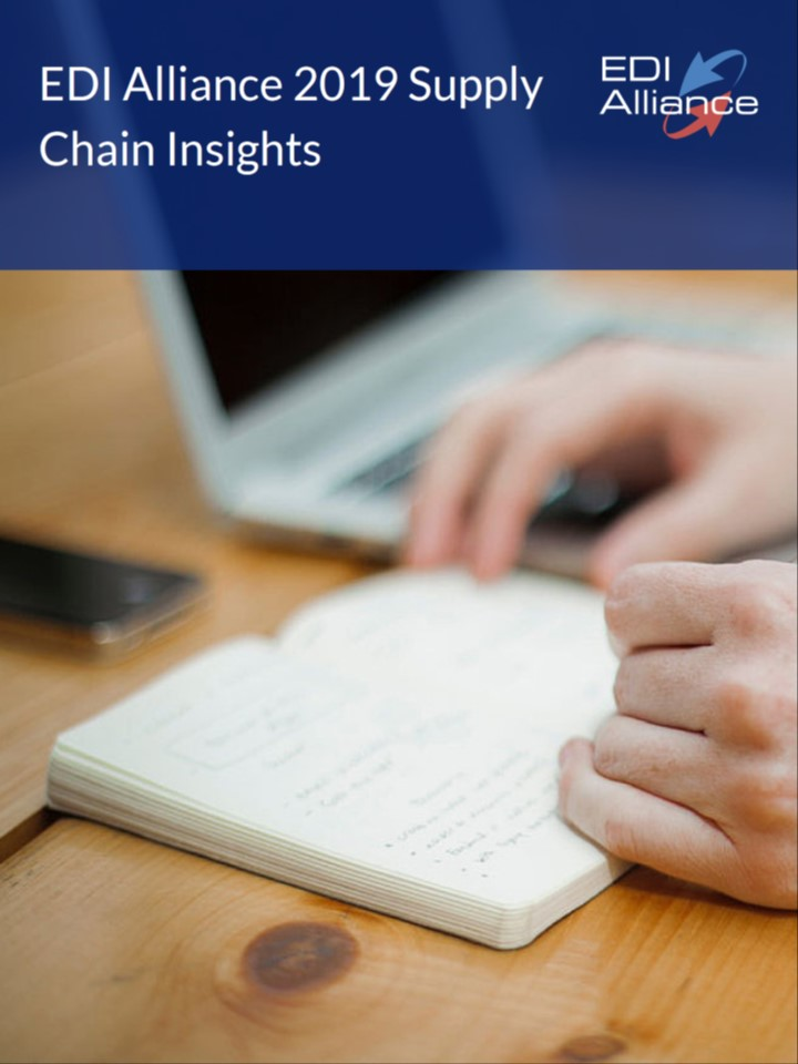 Supply chain ebook image with border