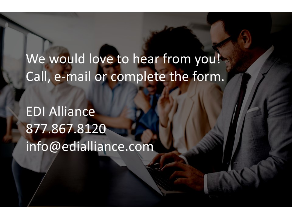 Contact Us 877.867.8120 info@edialliance.com